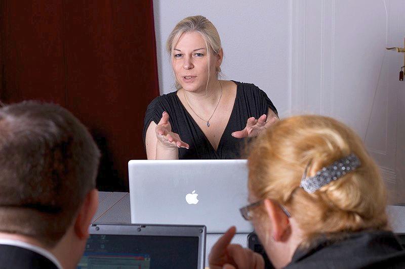Susanne Bexten – Schulung