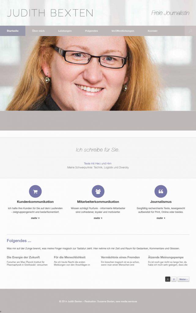 Judith Bexten - freie Journalisitin